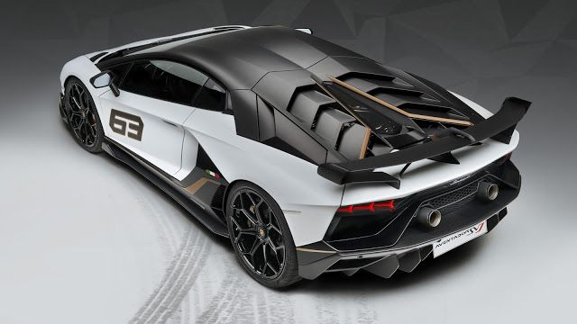 Top Supercar Models Lamborghini Aventador Svj Top Car Models