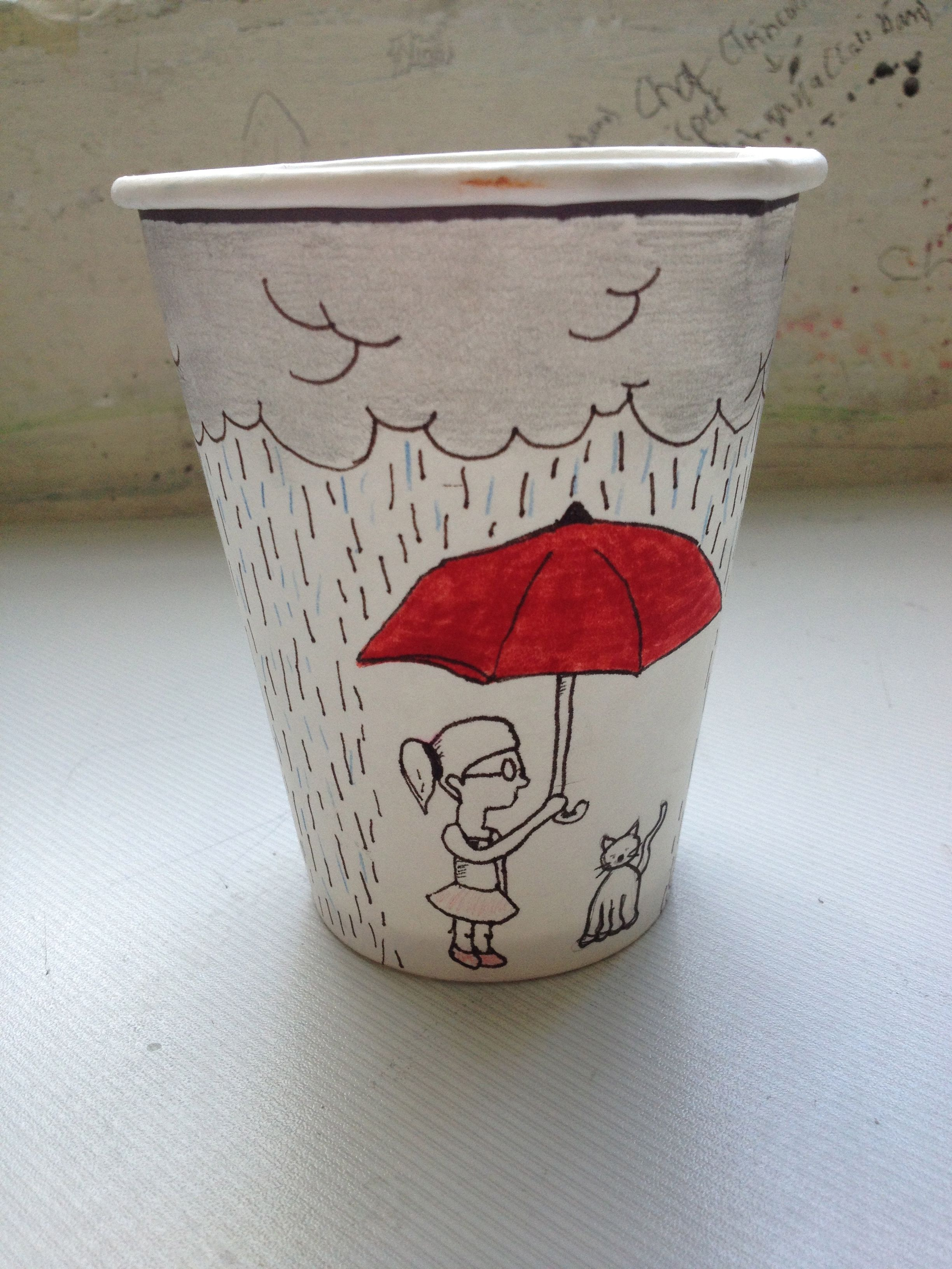 Cloudy Cup -- Pauline V