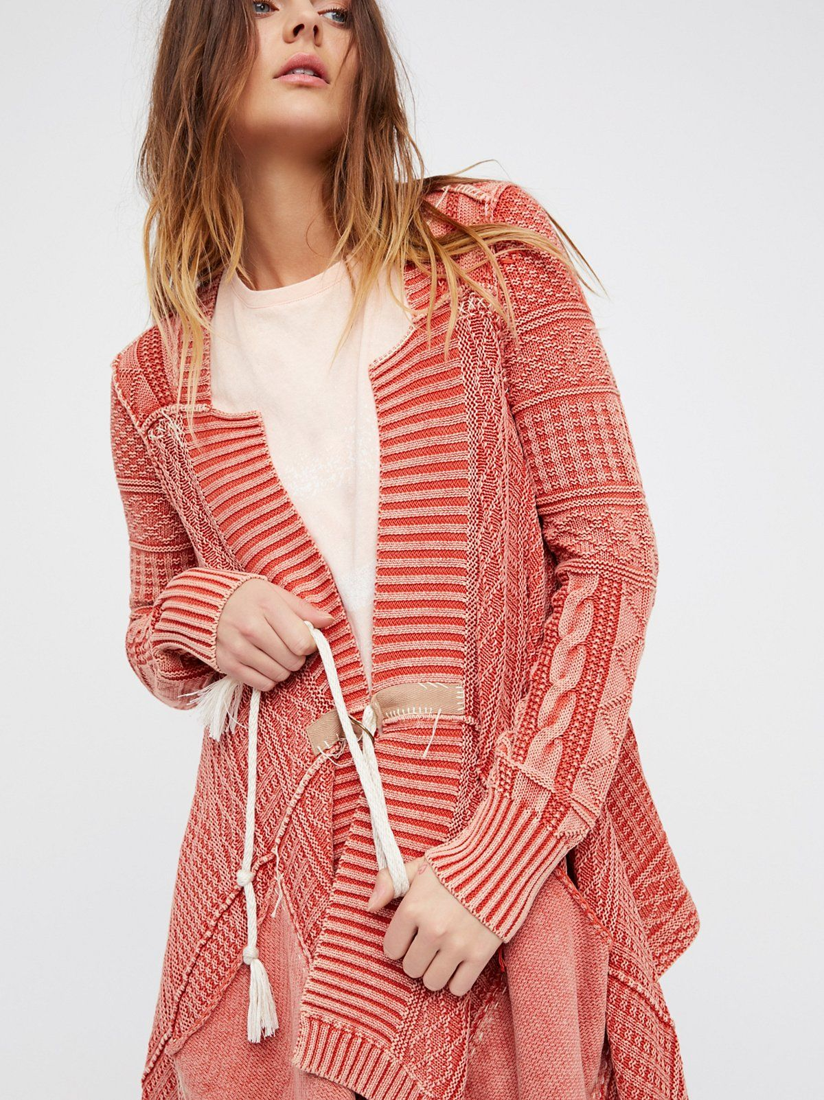 All Washed Out Cardi at Free People Clothing Boutique