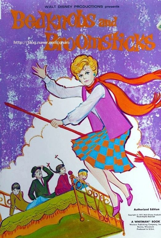 디즈니의 고전이죠~ 마법의 요술침대..마법의빗자루..날으는 요술침대.. 1971년작이니 벌써 40년이 다되어...