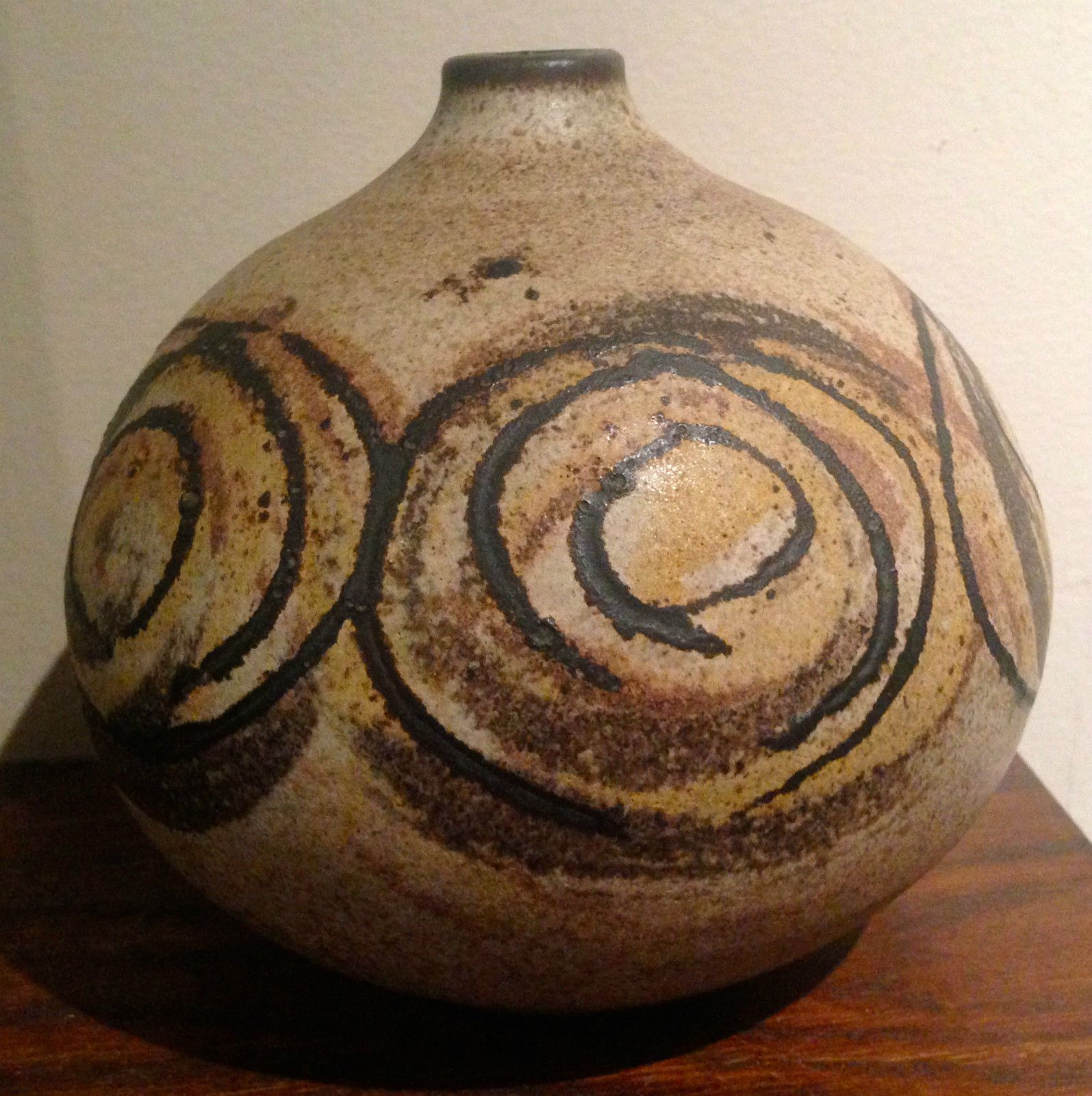 Mid century clyde burt studio pottery vase pottery vase pottery mid century clyde burt studio pottery vase reviewsmspy