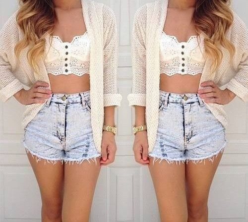 20 Style Tips On How To Wear High Waisted Shorts | High waisted ...