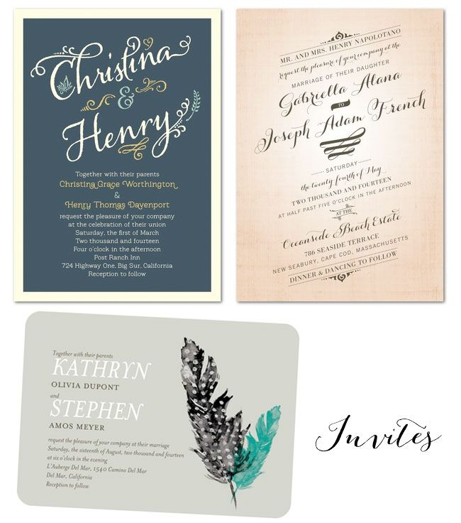 Wedding Invitations from Wedding Paper Divas Wedding Weddings and