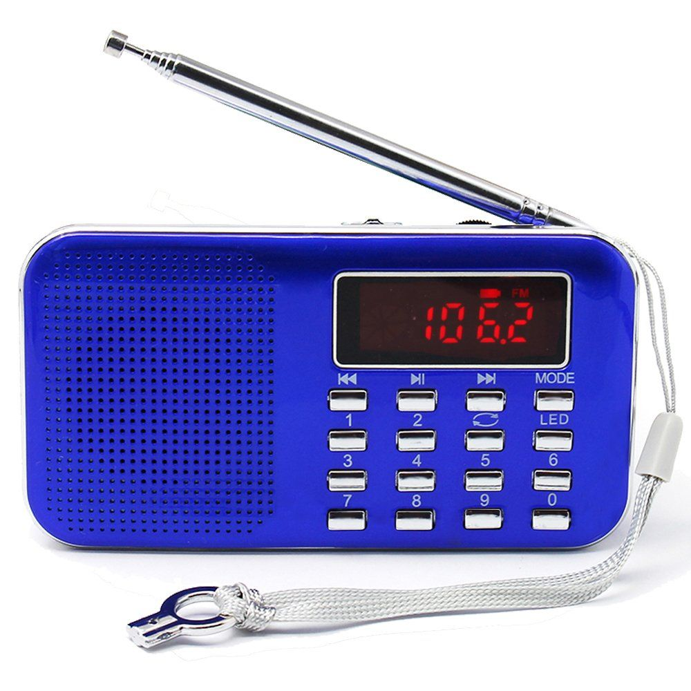 Mifine Mini Digital Am Fm Pocket Radio Fashion Stereo Sound