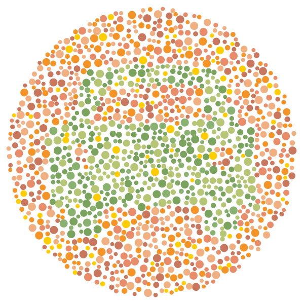 Color Blindness Tests For Kids Ideas For Work Color Blindness