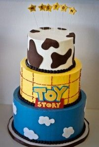 Toy Story Cake I Like That This One Is Buttercream Frosting And
