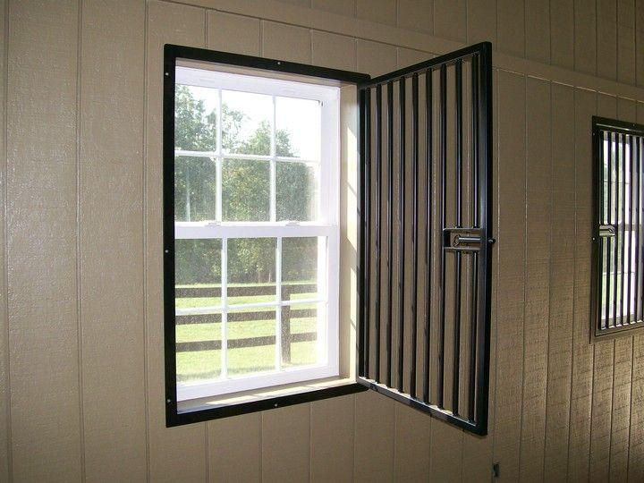 Wabash Valley Enterprises Horse Stall Steel Grill Window Guards Interior Design Furniture Iron Window Grill Barn Design