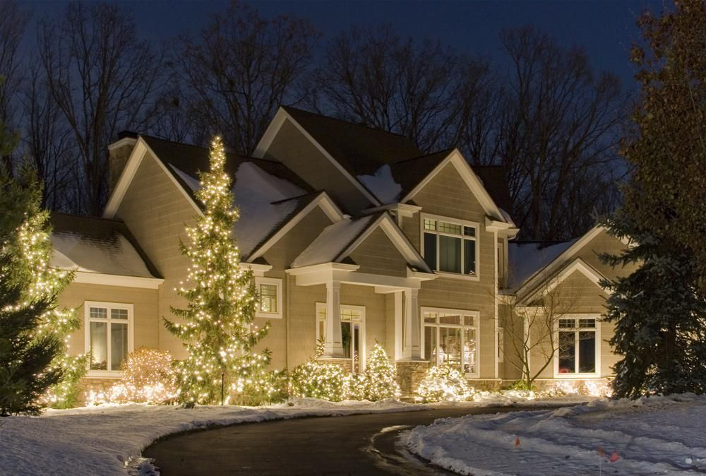 Creative 10 ideas for residential lighting christmas