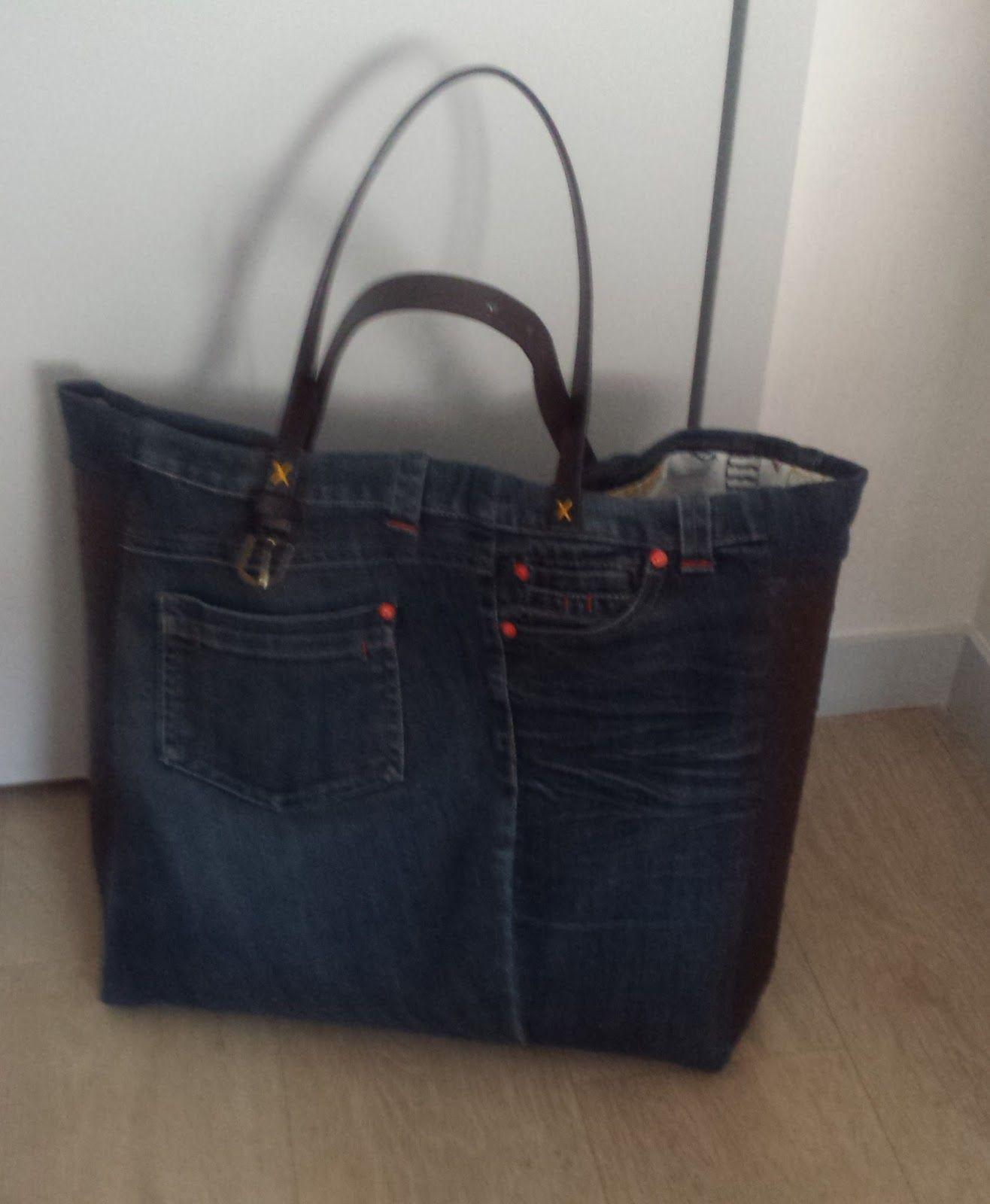 Jean Cabas En Gifts MainHandmade Sac Fait Couture Tuto rdQoeECWxB