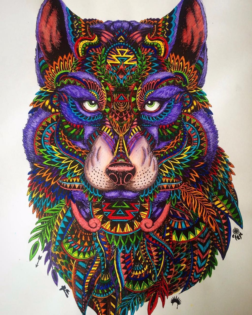 Pin By Pandora Mcgee On Wolves Coloring Book Art Animals Artwork Animal Art