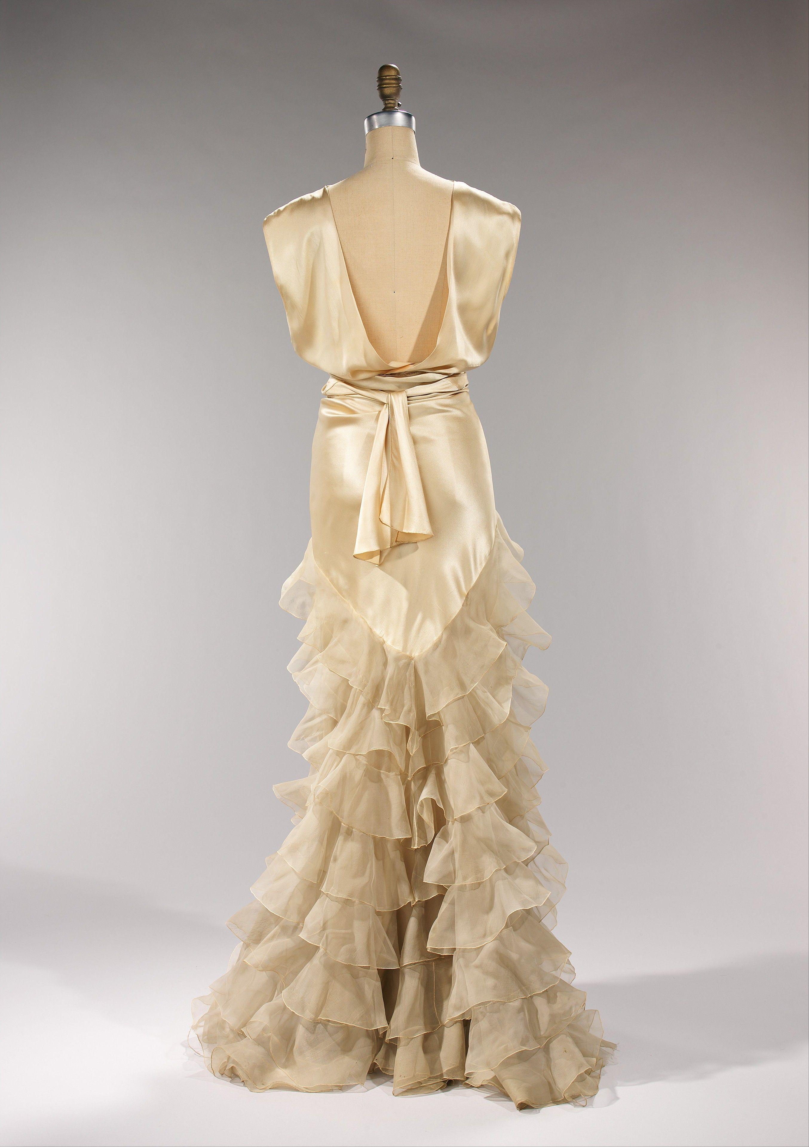 Evening Dress, Irene (American): ca. 1935, American, silk ...