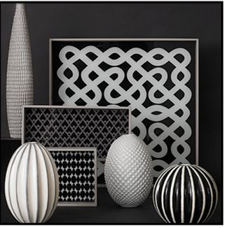 Black White Decor And Rooms