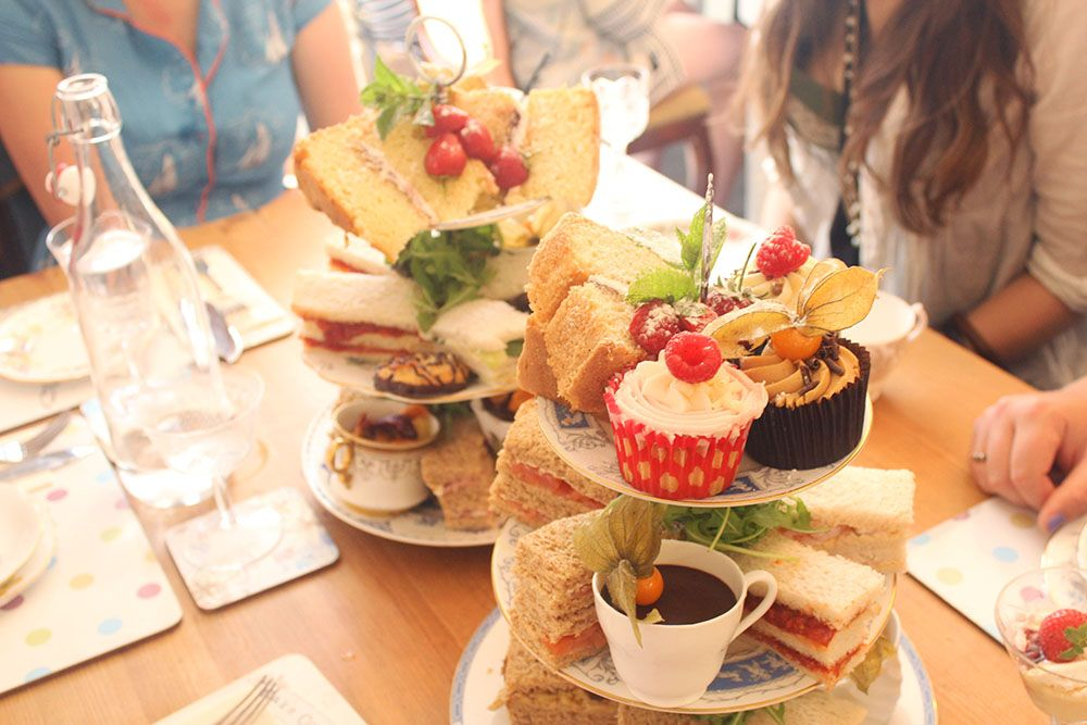 Bone China in Truro is the most perfect place for an afternoon tea!