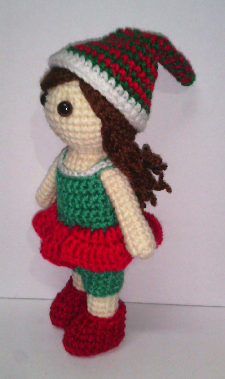 Free crochet Elf in a shelf doll pattern online | Free Crochet ...