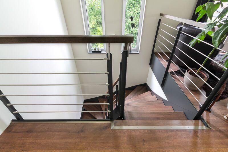 Treppenhaus architektur detail  Treppenhaus innen - Architektur Detail ECO Bauhaus Modern Classic ...