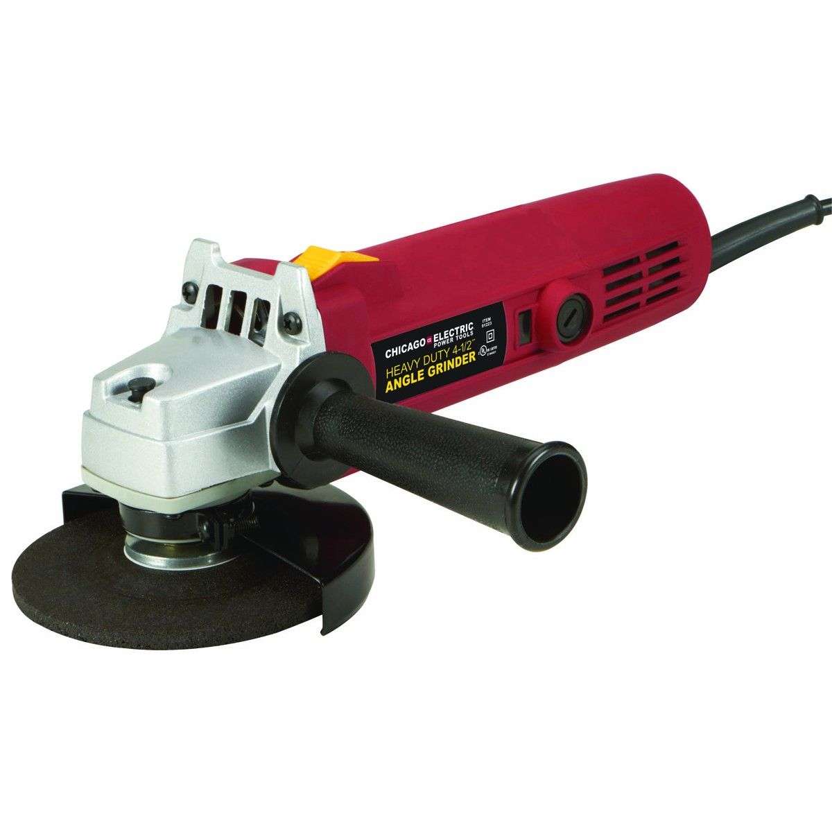 Electric Angle Grinder 3 ~ Heavy duty quot angle grinder harbor freight do