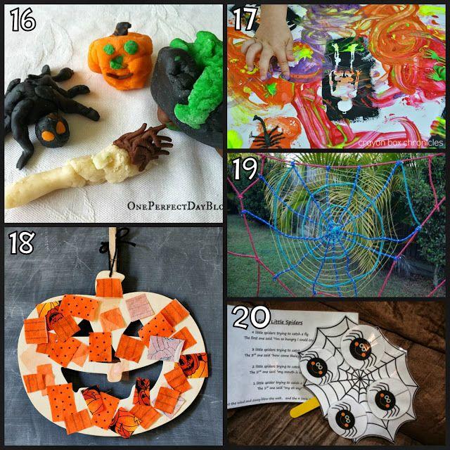 25 Halloween Activities for Kids Activities, Home and Plays - halloween activities ideas