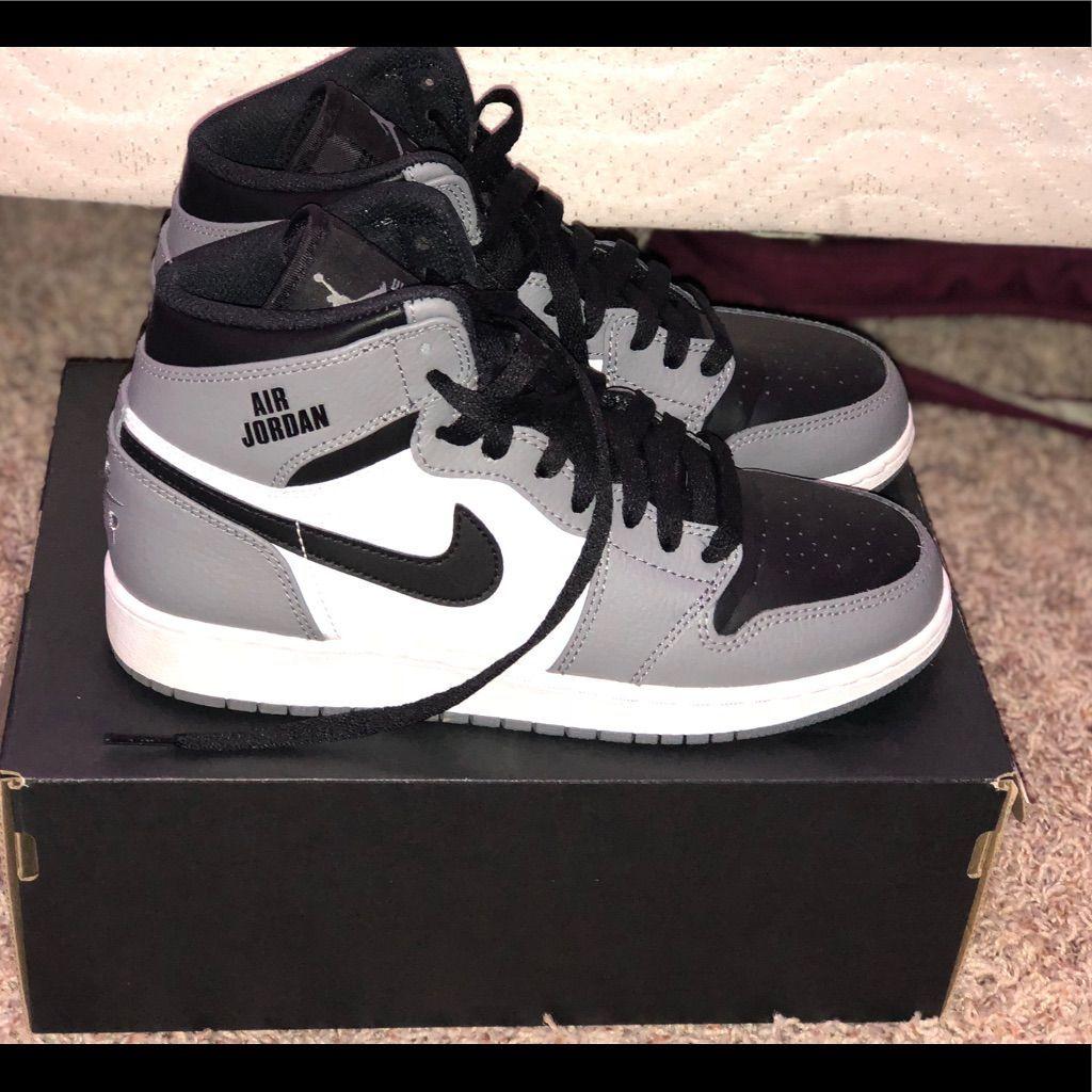Jordan Shoes | New New New!!! Jordan Retro 1s! | Color: Gray/White ...