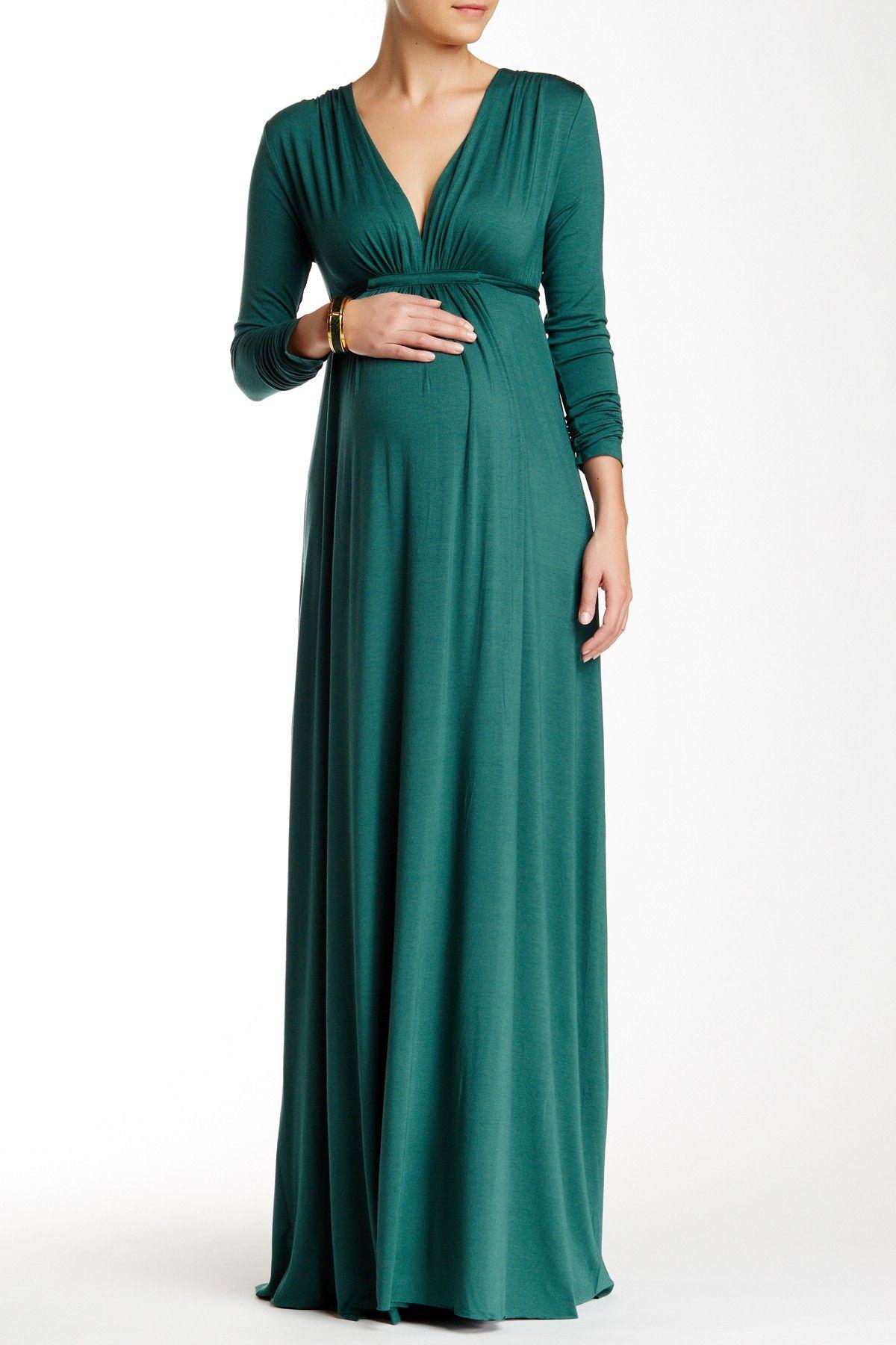 Long sleeve full length caftan dress by rachel pally maternity on long sleeve full length caftan dress by rachel pally maternity on hautelook ombrellifo Images