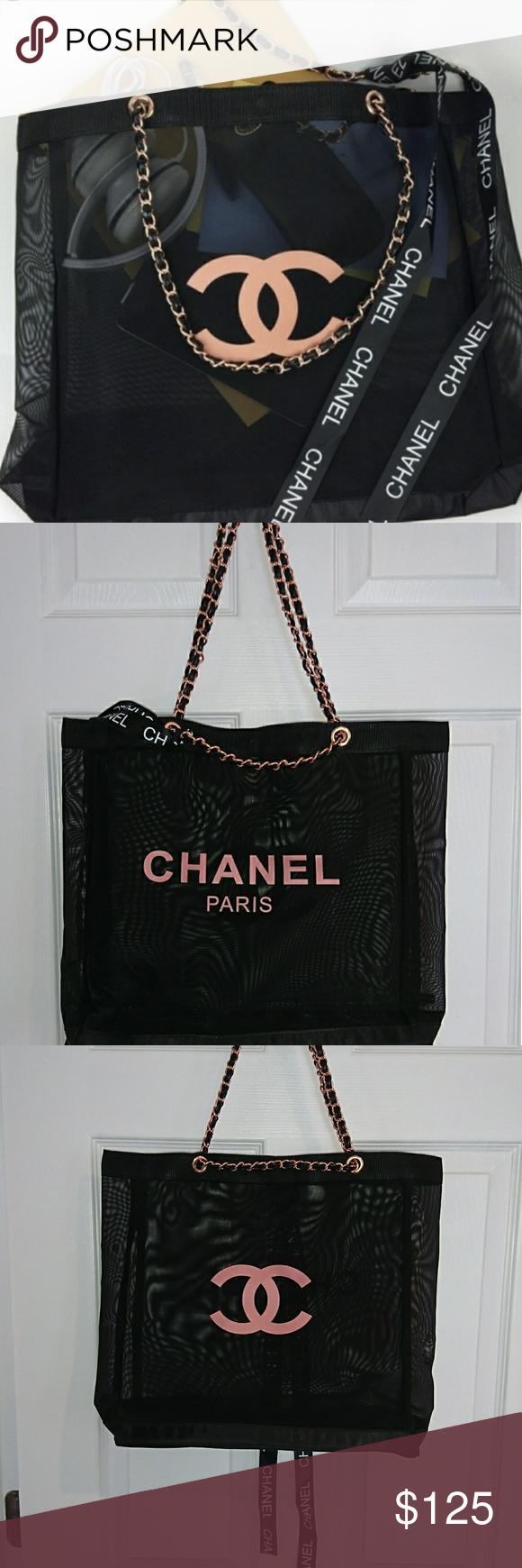 f7515260dd2ff3 Flash sale 🆕 Authentic chanel vip rose gold tote 🆕 Authentic chanel vip  gift Not for