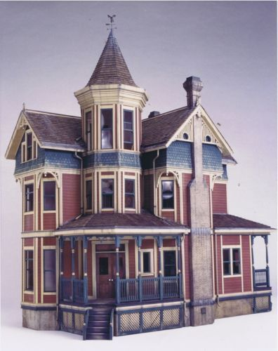 Josiah Golden Dollhouse By Clell Boyce Doll House Shell House Victorian Dollhouse