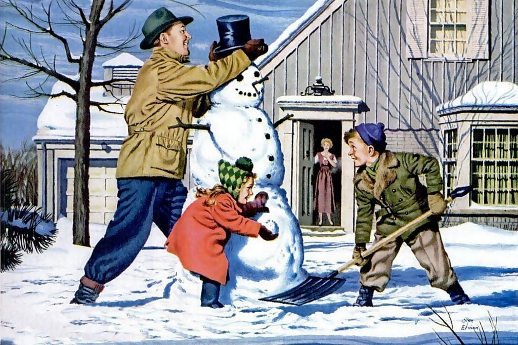 Building the Snowman jigsaw puzzle in People puzzles on ...