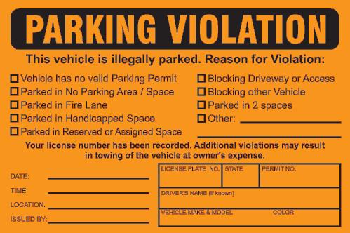 Parking Ticket Joke