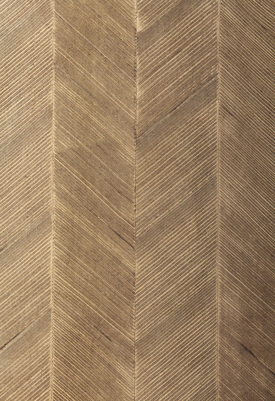 Wallcovering / Wallpaper Chevron Texture in Sable