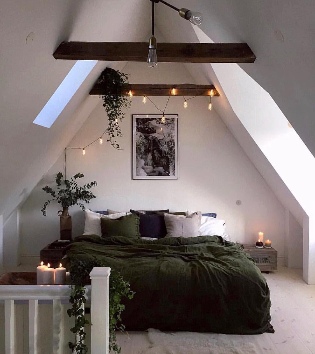 """Photo of M A R I T  F O L L A N D © on Instagram: """"@hannasanglar sitt nydelige hjem er til stor inspirasjon?  Gå inn å se på profilen hennes, og dette vakre soverommet?? . . . #bedroomdecor…"""""""