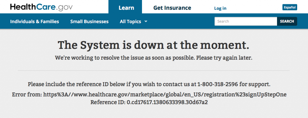 The History of HealthCare.gov, the Obamacare website