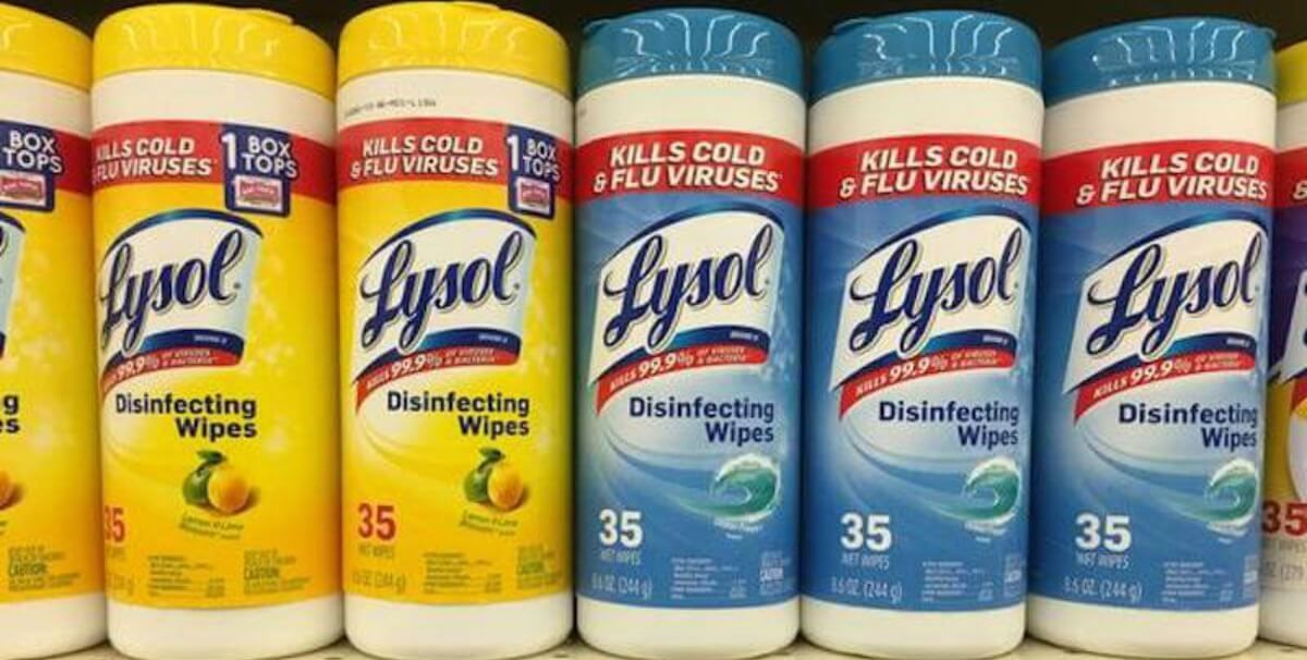 lysol disinfecting wipes toilet bowl cleaners just 0 50 at rh pinterest com