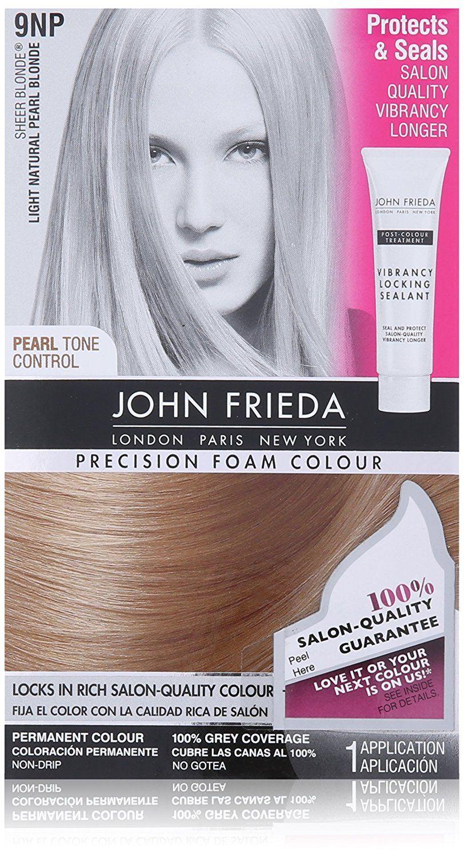 John Frieda Precision Natural Foam Colour Sheer Blonde Extra Light