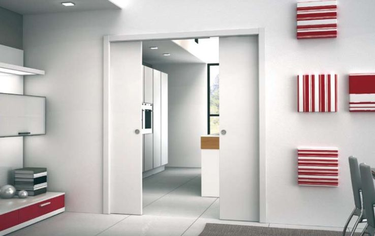 Unico DD   Eclisse Double Pocket Doors. For Further Information Visit    Http:/