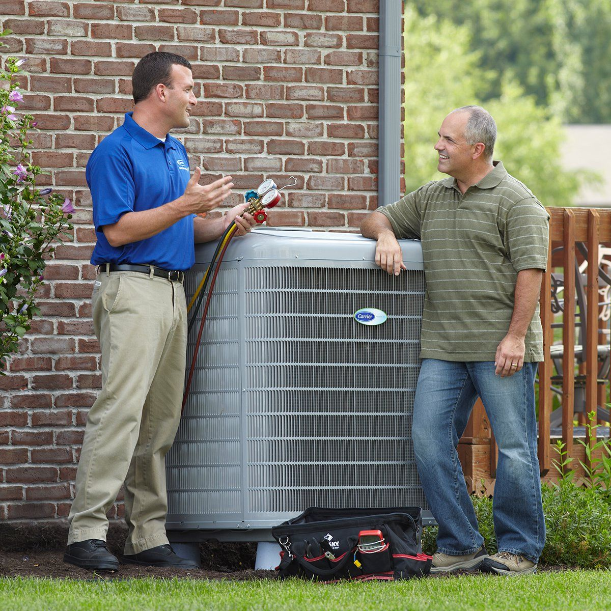 Cleaning air conditioners in the spring air conditioner