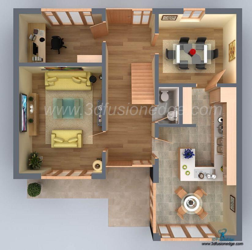 Best 3D Floor Plan Rendering Services