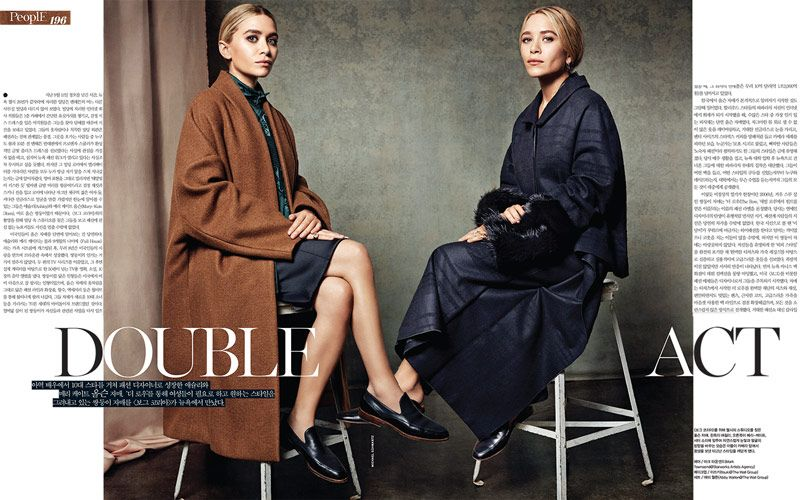 Mary Kate Ashley Olsen Pose For Michael Schwartz In Vogue Korea Mary Kate Ashley Olsen Fashion Olsen Twins Style