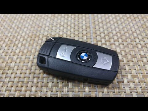 How To Change Replace Smart Key Fob Battery Bmw 1 3 5 7