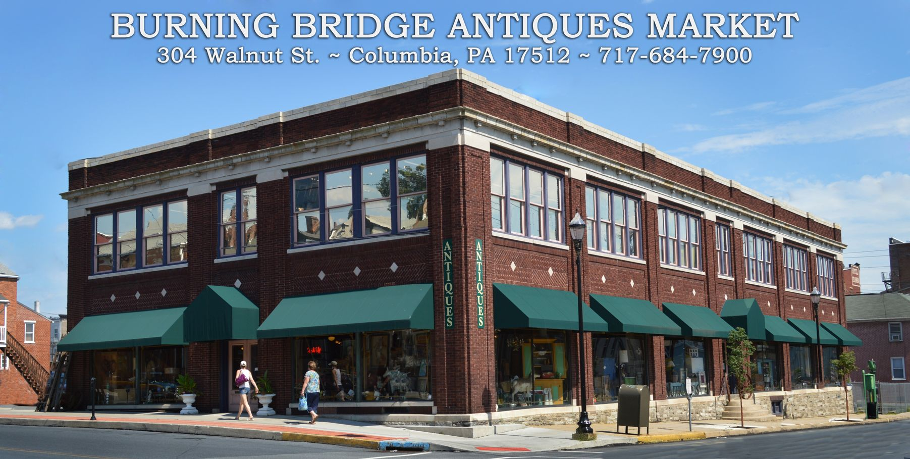 Image result for burning bridge antiques