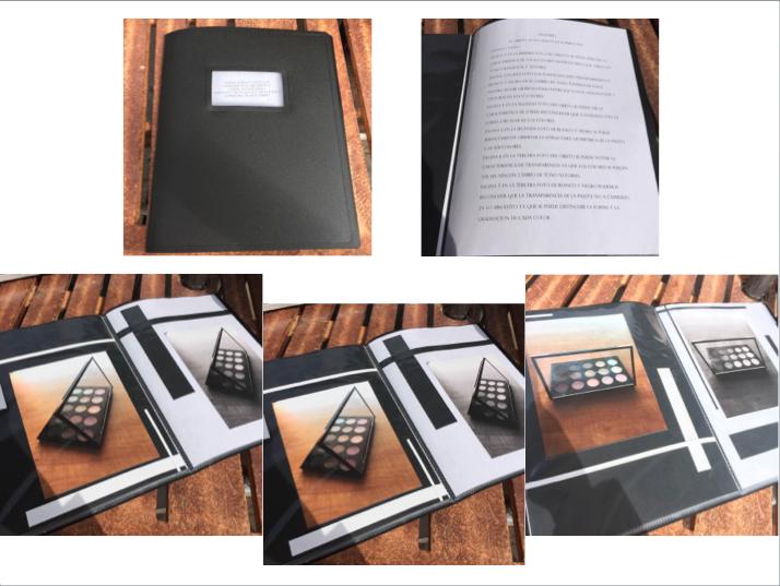 Esta es mi presentación final. Expuse mis fotografías en un librito. Al final de las fotos decidí poner un Glosario con las características y los atributos de las fotos que predominan.