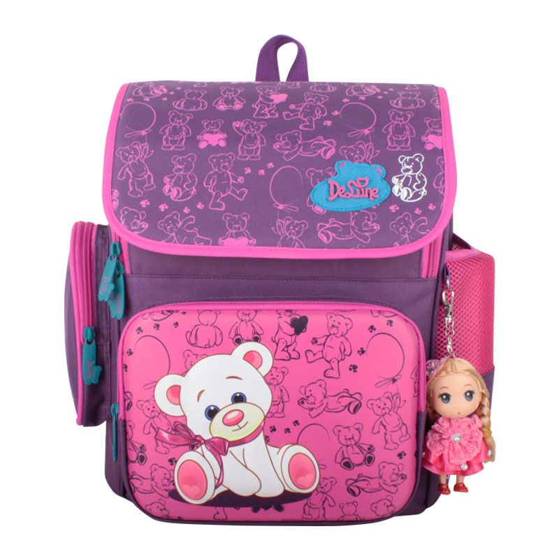 Bag · Delune Grade1-4 Orthopedic Breathable Princess Primary School Backpack  for girls Schoolbag Kids Knapsack Satchel 51cfb97439024