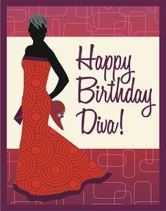 Happy Birthday African American Diva Google Search Woman