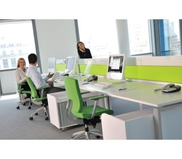 Versatile Office Bench Desk Systems Suitable For Multiple Users Quality Workstations Available Online Now At Easy Furniture