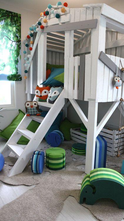 Playful room for children at Vantaa Housing Fair. Leikkisä lastenhuone Vantaan Asuntomessuilla!