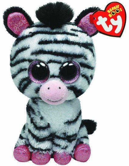 Ty Beanie Boos Izzy - Zebra (Justice Exclusive)  055db6710c42