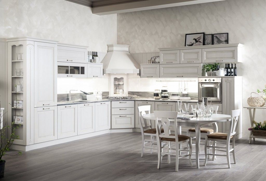La nuova cucina country è new classic | Cucina, Shabby and Country chic