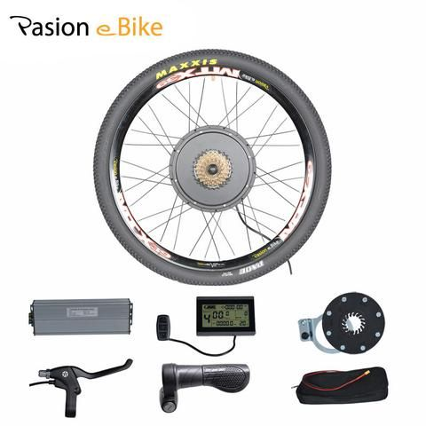 Asion Ebike Conversion Kit 48v Hub Wheel Motor 1500w Electric Bike