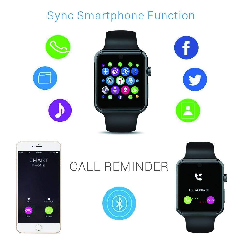 ZAOYI DM09 SIM Card Smart Watch with HD Camera Monitor