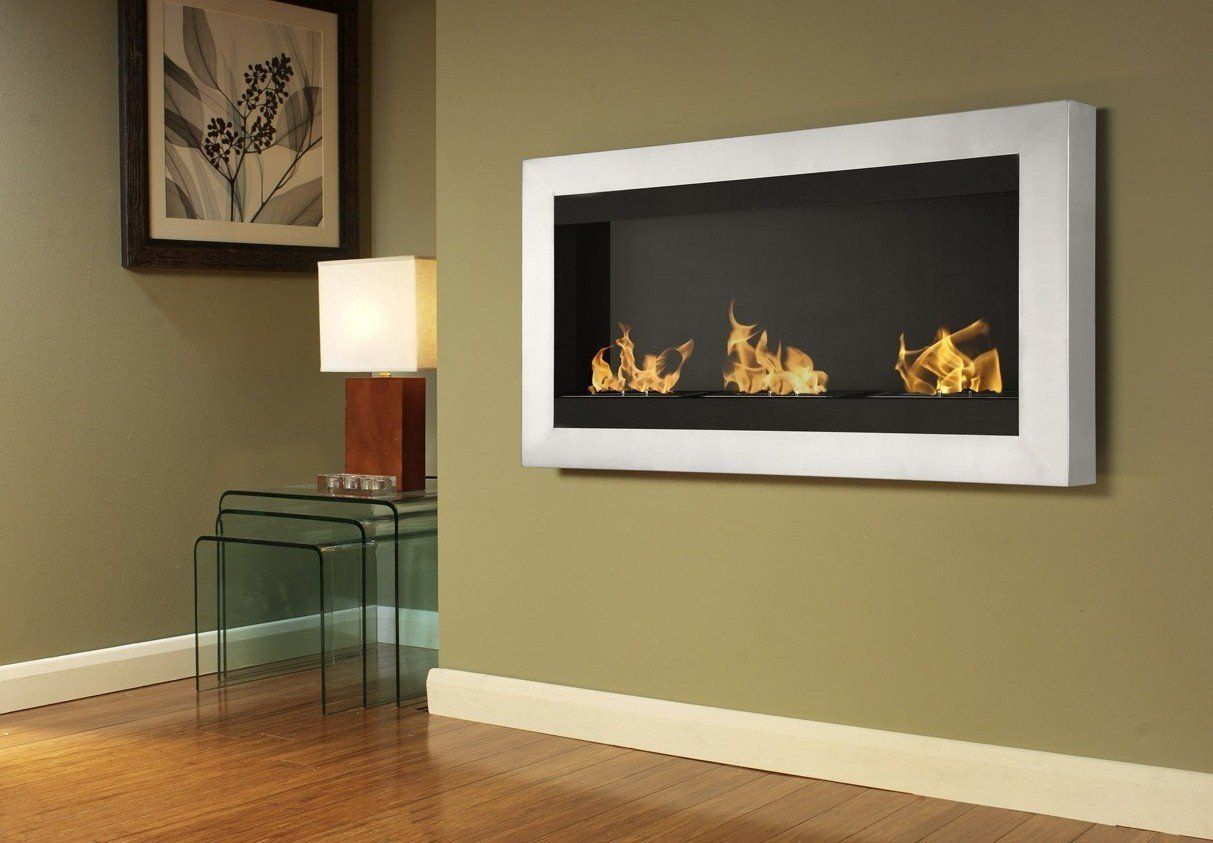 Ignis Magnum Wall Mount Bio Ethanol Fireplace In 2019 Wall Mount