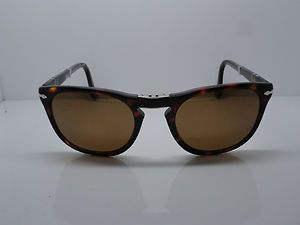 cdc9cc616ee7f New PERSOL 3028-S 24 57 TORTOISE Polarized 52mm Folding Sunglasses ...
