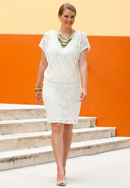 All Over Lace plus size dress from Cato\'s | Plus size ...